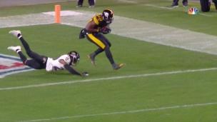 Juju ajoute à l'avance des Steelers