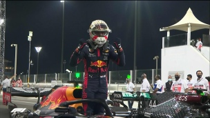F1 : Verstappen prend la pole à Abou Dhabi