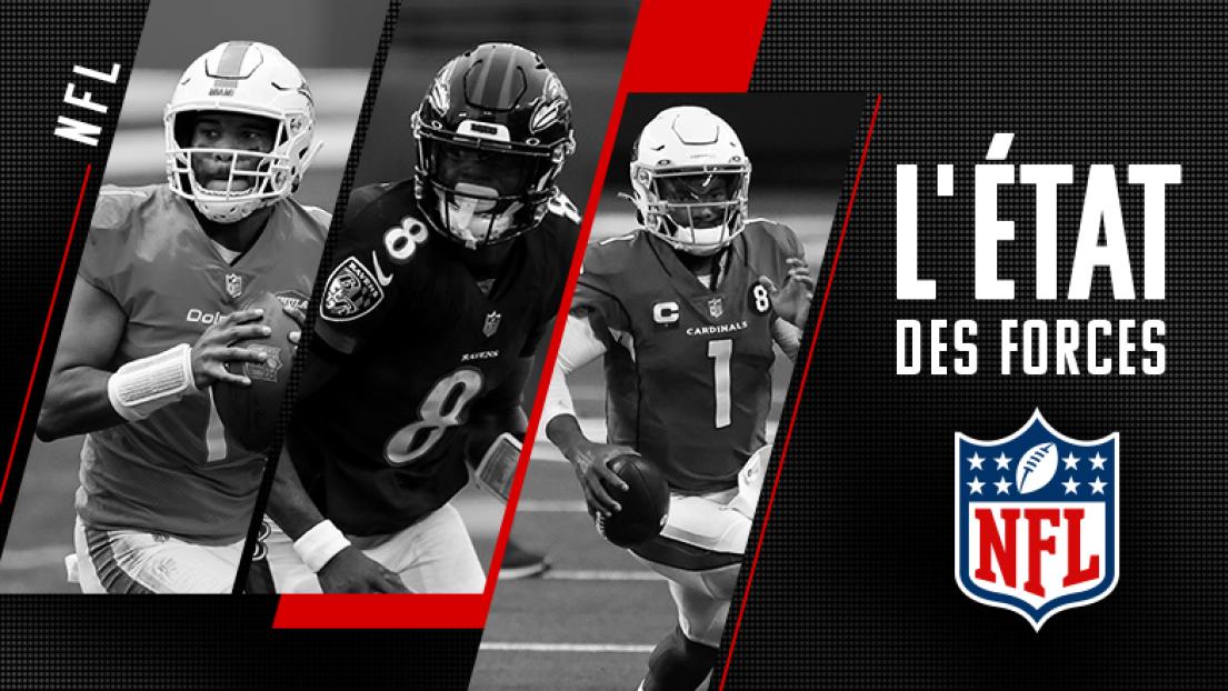 État des forces NFL 15 décembre 2020