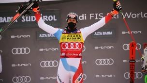 Ramon Zenhaüsern gagne le 1er slalom de la saison
