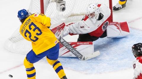 La Suède tire 65 fois et bat l'Autriche