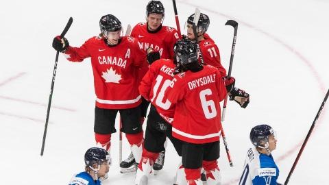Le Canada s'octroie le sommet du Groupe A