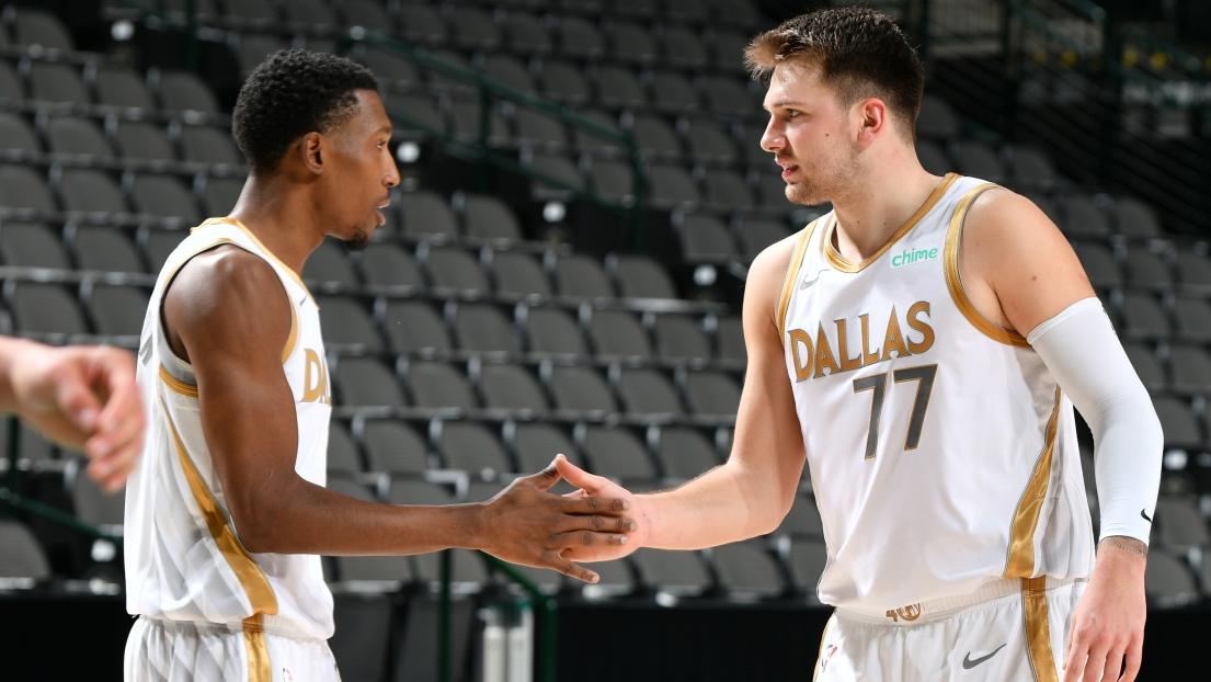 Josh Richardson et Luka Doncic
