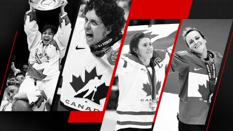 Moments marquants du hockey féminin au pays