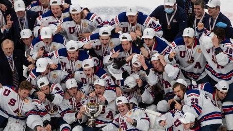 Les Américains soutirent l'or aux Canadiens