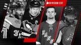 Patrice Bergeron, Sidney Crosby, Alexis Lafrenière et Alex Ovechkin