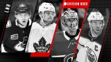 Elias Pettersson, Auston Matthews, Carey Price et Connor McDavid