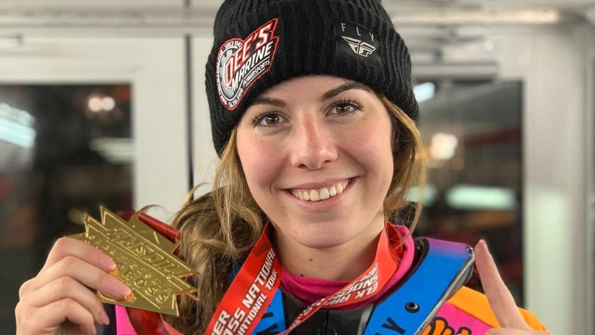 Megan Brodeur signe une première victoire de la saison chez les femmes