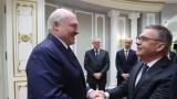 Alexandre Loukachenko et René Fasel