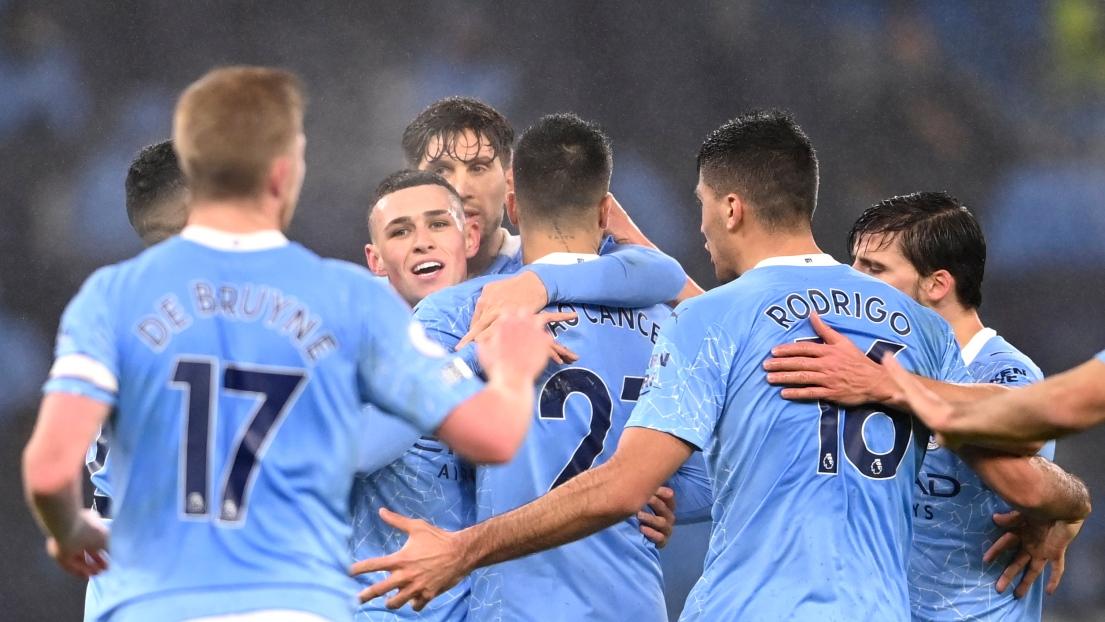 Célébrations Manchester City