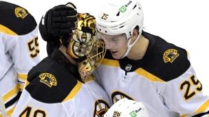 Bruins 3 - Devils 2 (Tirs de barrage)