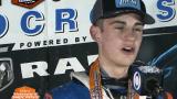 Emeric Legendre-Perron réalise son premier podium en saison
