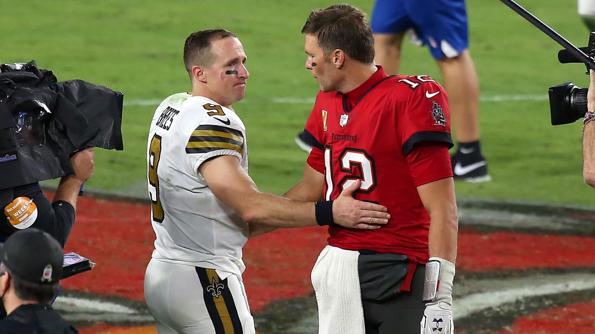 Drew Brees et Tom Brady