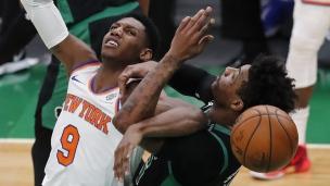 Knicks 105 - Celtics 75