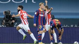 FC Barcelone 2 - Athletic Bilbao 3
