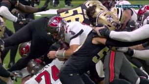 Brady assomme les Saints avec la faufilade