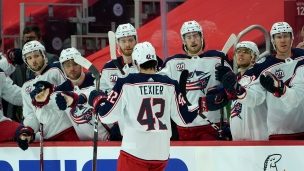 Blue Jackets 3 - Red Wings 2