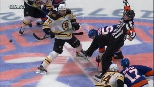 Bruins 0 - Islanders 1