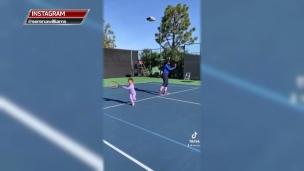 Une nouvelle partenaire d'entraînement pour Serena Williams?