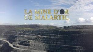La mine d'or de Malartic