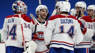 Canadiens 7 - Canucks 3