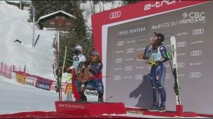 Goggia l'emporte en Suisse ; Gagnon termine 11e