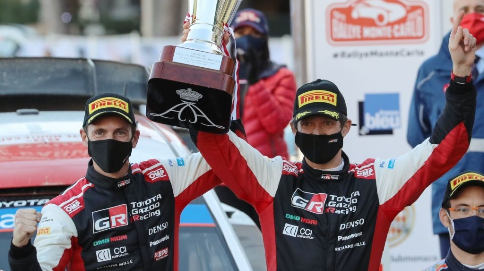 Une 8e victoire record pour Ogier à Monte-Carlo
