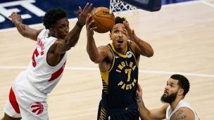 Raptors 114 - Pacers 129