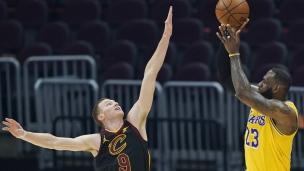 Lakers 115 - Cavaliers 108