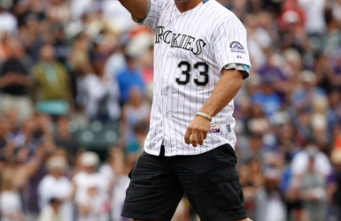 Larry Walker au camp des Rockies